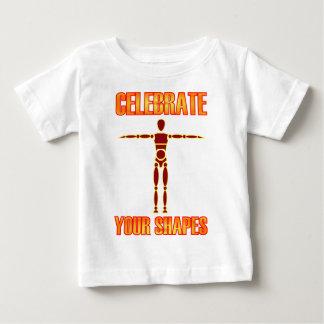 あなたの形を祝って下さい ベビーTシャツ