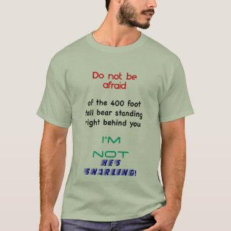 あなたの後ろで見て下さい! Tシャツ