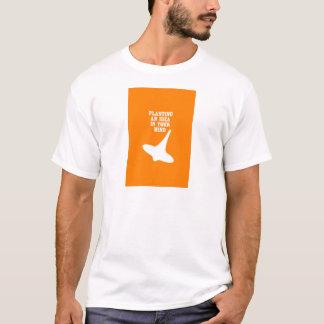 あなたの心のアイディアを植えて下さい Tシャツ