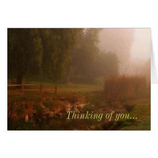 あなたの思考 グリーティングカード