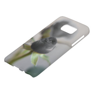 あなたの恋人のための黒いバラ… SAMSUNG GALAXY S7 ケース
