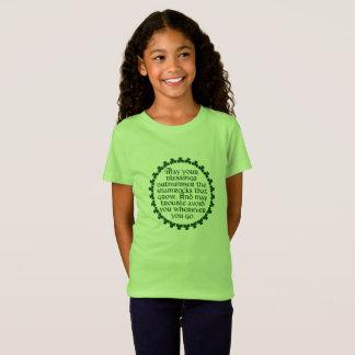 あなたの恵みはアイルランド語シャムロックを数で圧倒するように Tシャツ
