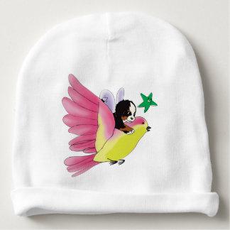 「あなたの想像のはえ」の赤ん坊の綿の帽子許可して下さい ベビービーニー