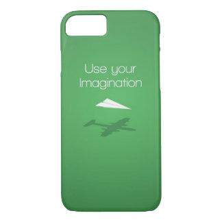 あなたの想像を使用して下さい iPhone 7ケース