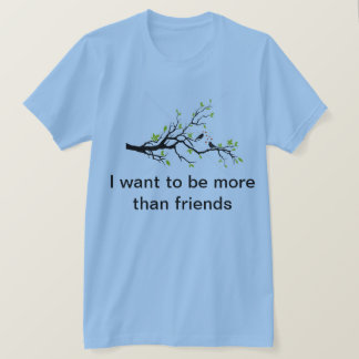 あなたの愛を発表して下さい Tシャツ