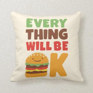 「あなたの感覚の枕を食べ物を与えて下さい クッション