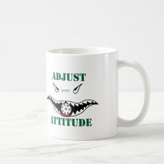 あなたの態度を調節して下さい コーヒーマグカップ