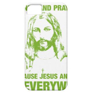 あなたの手を洗浄し、-イエス・キリストおよび細菌…祈って下さい iPhone SE/5/5s ケース