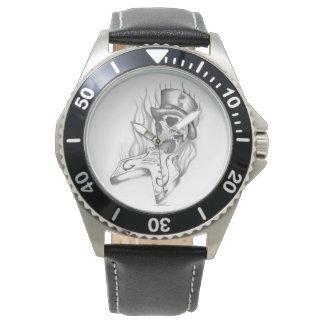 あなたの手首のための素晴らしい入れ墨のアートワーク! 腕時計