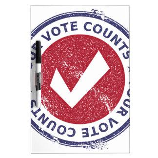 あなたの投票計算 ホワイトボード
