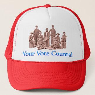 あなたの投票計算-市民戦争の多数プロダクト キャップ