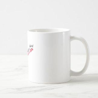 あなたの指が出血するまで遊んで下さい コーヒーマグカップ