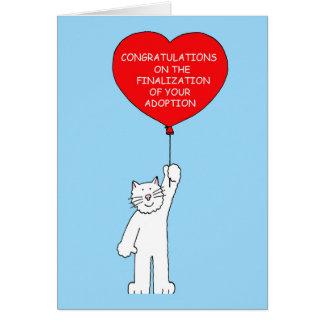 あなたの採用の完了のお祝い グリーティングカード