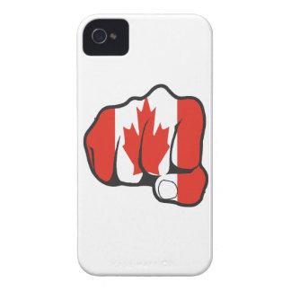 あなたの握りこぶしおよび地獄を上げて下さい Case-Mate iPhone 4 ケース