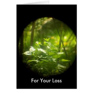 あなたの損失のためのSympathカード カード