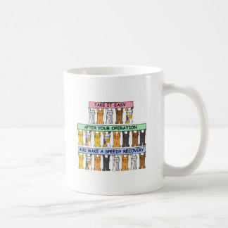 あなたの操作、回復の後でリラックスして下さい コーヒーマグカップ