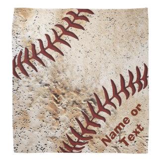 あなたの文字が付いている名前入りな野球のバンダナ バンダナ