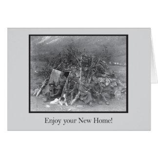 あなたの新しい家を楽しんで下さい! カード