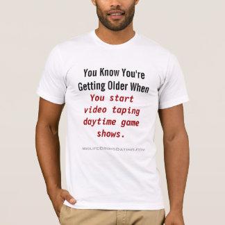 あなたの新しい昼間のゲーム番組のワイシャツ Tシャツ