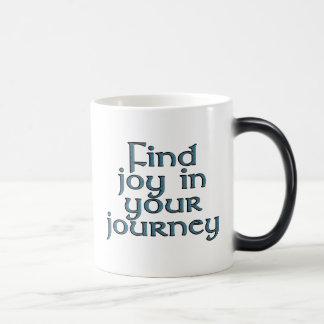 あなたの旅行の発見の喜び マジックマグカップ