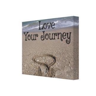 あなたの旅行を愛して下さい キャンバスプリント