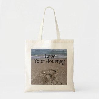 あなたの旅行を愛して下さい トートバッグ