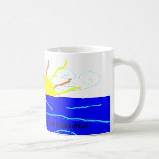 あなたの日はすべて明るく、美しいように コーヒーマグカップ