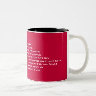 あなたの日はシムべきです… -カスタマイズ ツートーンマグカップ