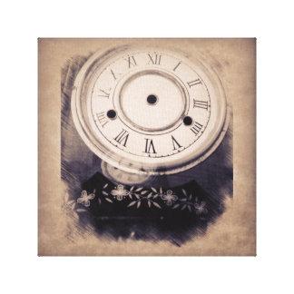 「あなたの時間すぐに」はアルバム芸術です キャンバスプリント