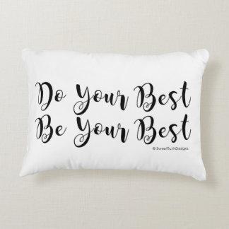 あなたの最も最高のなアクセントの枕をして下さい アクセントクッション