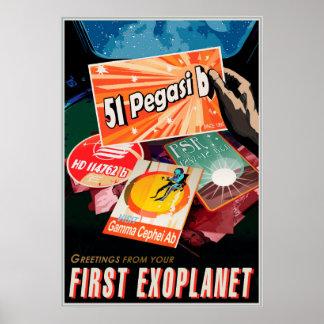 あなたの最初Exoplanetからの挨拶 ポスター
