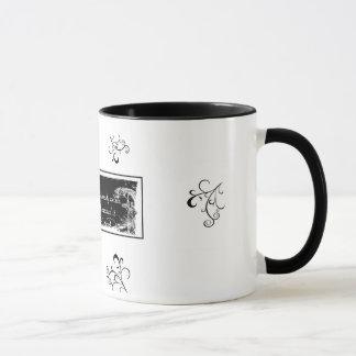 """""""あなたの未来の道"""" 11のoz。 信号器のコーヒー・マグ マグカップ"""