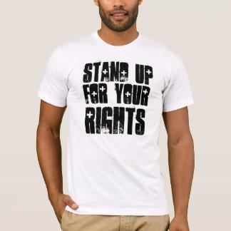 あなたの権利を擁護して下さい Tシャツ