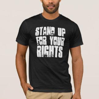 あなたの権利BLKを擁護して下さい Tシャツ