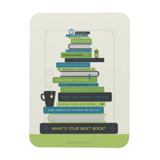あなたの次の本は何ですか。 マグネット
