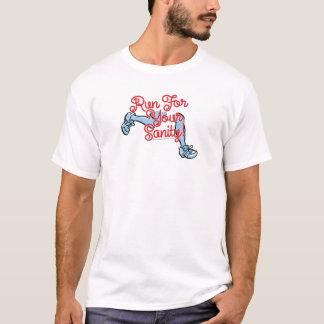 """あなたの正気のTシャツ(""""お洒落な""""版)のための操業 Tシャツ"""