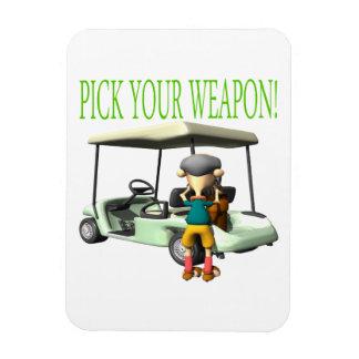 あなたの武器を選んで下さい マグネット