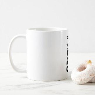 """""""あなたの武器""""の賭博のマグ選んで下さい コーヒーマグカップ"""