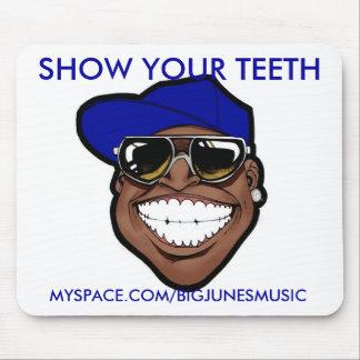 あなたの歯のマウスパッドを示して下さい マウスパッド