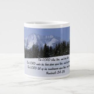 あなたの毎日の賛美Numbers6 ジャンボコーヒーマグカップ
