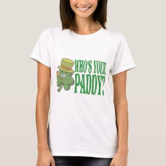 あなたの水田のシャムロックはだれであるか Tシャツ