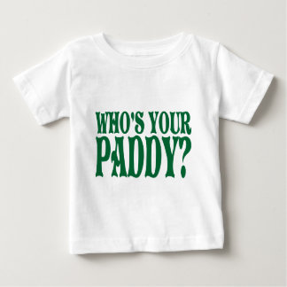 あなたの水田の乳児のワイシャツはだれであるか ベビーTシャツ