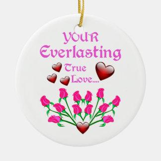 あなたの永遠に続く愛 セラミックオーナメント