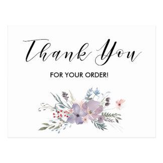 あなたの注文カードをありがとう ポストカード