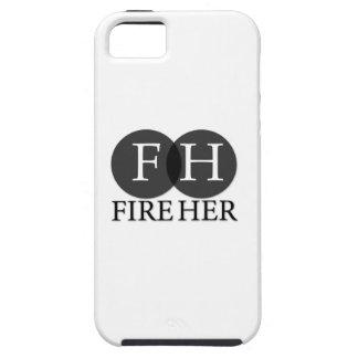 あなたの火彼女の責任能力のiPhoneの場合 iPhone SE/5/5s ケース