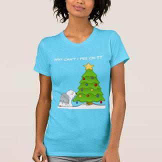 あなたの犬へクリスマスを説明すること Tシャツ