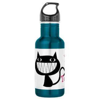 あなたの猫を今日愛しましたか。 黒猫愛 ウォーターボトル