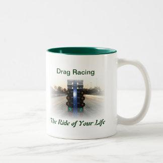 あなたの生命の乗車 ツートーンマグカップ