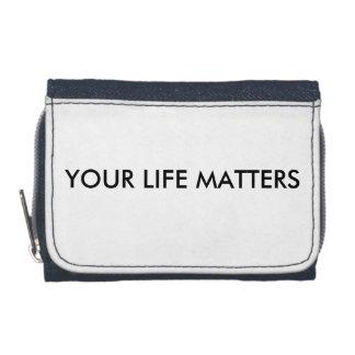 あなたの生命は札入れ重要です