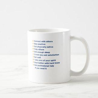 """""""あなたの生命井戸""""はマグ住んでいます コーヒーマグカップ"""